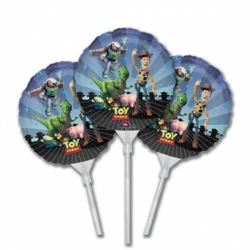 Toy Story E-z Fill Balloon Favors Pkg of 3