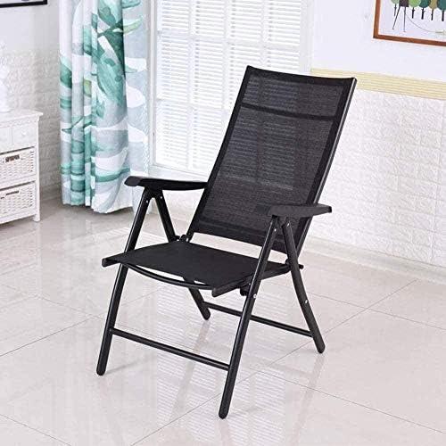 Fauteuil Lounge Chair Déjeuner Président Pause Mesh Chair Chaise d'ordinateur d'été Loisirs Plage Chaise respirante (4 pièces) Chaise tabouret
