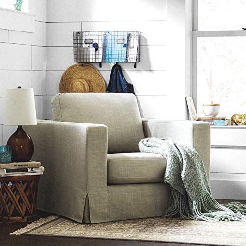 Stone & Beam Mid-Century Modern Dusk Wool Rug, 5′