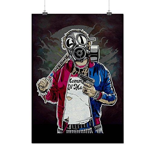 Street Gun War Gangster Matte/Glossy Poster A3 (42cm x 30cm)   (True Blood Costumes Uk)
