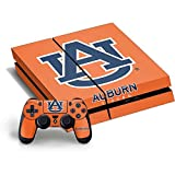 Auburn University PS4 Horizontal Bundle Skin - Auburn Tigers Orange Vinyl Decal Skin For Your PS4 Horizontal Bundle