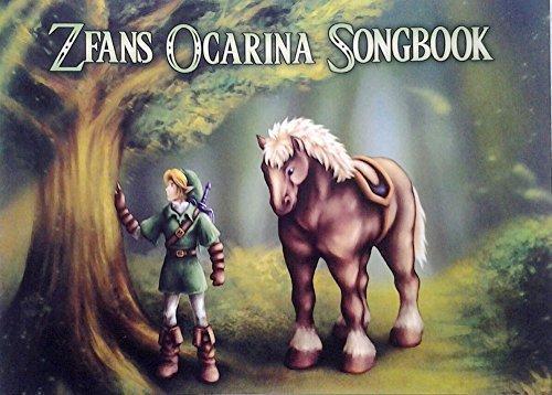 Legend of Zelda Standard Notation Edition Songbook for Ocarina with CD (Ballad Of The Goddess Ocarina Sheet Music)