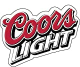 "Coors Light Beer Vinyl Sticker Decal 4""x5"" Car Bumper Laptop Toolbox"