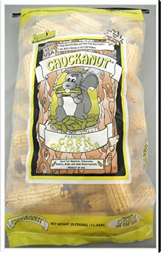 Chuckanut Products 10005 25-Pound Corn On The Cob