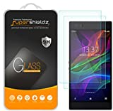 [2-Pack] Supershieldz for Razer Phone Tempered Glass Screen Protector, Anti-Scratch, Bubble Free, Lifetime Replacement Warranty