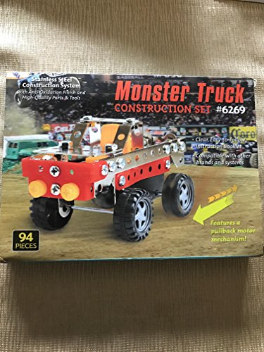 Monster Truck Stainless Steel Construction Set