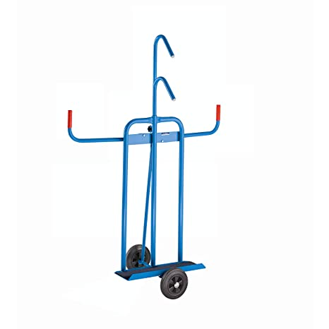 c36adaf9f6 Euro Kraft Piastra carrello - vollgummireifen con cuscinetto a rulli ...