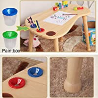 Amazon.com: ZH Child Table and Chairs for Toddlers,Kids ...