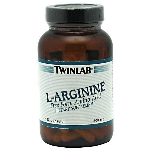 Twinlab L-Arginine 500mg 100 Cap