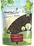Organic Wild Rice — Raw, Long Black Whole Grain, Non-GMO, Kosher, Bulk (by Food to Live) — 1 Pound