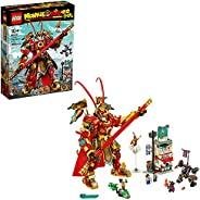 LEGO Monkie Kid: Monkey King Warrior Mech 80012 Toy Building Kit (1,629 Pieces)