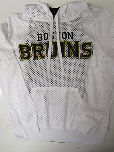 G-III Sports Boston Bruins Womens Size Large 2 Piece Racer Back Tank Top w Mesh Hooded Shirt Set ABRU 23 L