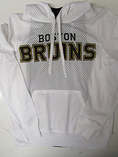 G-III Sports Boston Bruins Womens Size Large 2 Piece Racer Back Tank Top w Mesh Hooded Shirt Set ABRU 23 L (Bruins G-iii Top Boston)