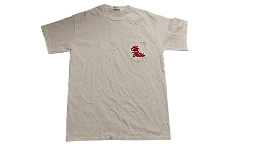 Ole Miss T Shirt Fundamental Tee Short Sleeve White Medium
