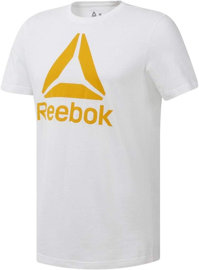 Tee shirt homme bicolore pour le sport Reebok