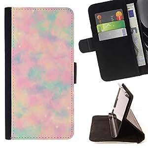 Momo Phone Case / Flip Funda de Cuero Case Cover - Extracto psicodélico del teñido anudado - HTC Desire 626