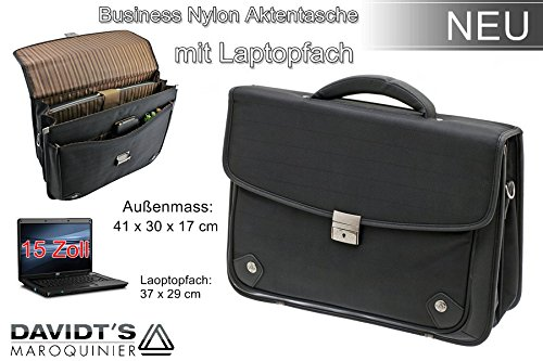 Aktentasche Notebook Business Tasche Bag Aktenmappe Laptop Businesstasche Messenger Schultertasche