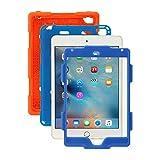 Ipad Mini 4 Case, Aceguarder [New Hot] Outdoor Water proof Shock proof Rain proof Dirt proof Cover Case with Ipad Mini 4 (Orange Blue)
