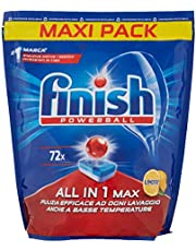 Finish, 72 Vaatwassertabs, All In One Max, citroen - 1152 g