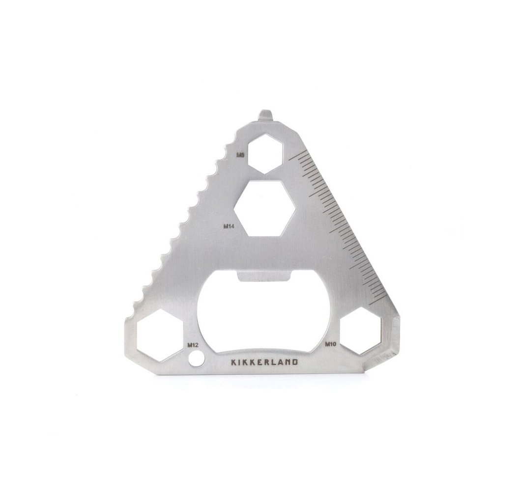 Kikkerland CD403 Triangle Stainless Steel Multi-Tool