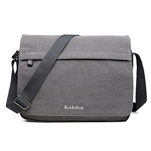 d4fc153228ea Messenger Bag for men,Kabden 14 inch Laptop Shoulder Bag Vintage ...