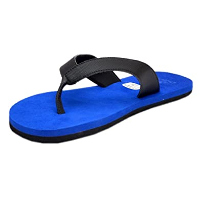 ad6fe8d15 Adidas Mens Blue Rubber Flip Flops - 11 UK  Buy Online at Low Prices in  India - Amazon.in