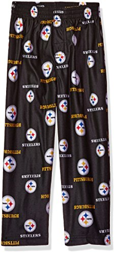 NFL Toddler Steelers Sleepwear All Over Print Pant, 4T, B...