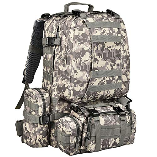 CVLIFE Tactical Backpack Military