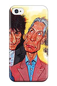 Iphone Tpu Phone Case With Fashionable Look For Iphone 4/4s The Rolling Stones