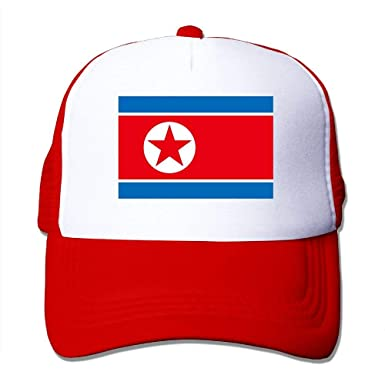 Gorras de béisbol Bandera de Corea del Norte Gorras de Malla ...