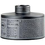 AVEC CHEM - Spezial-Atemschutzfilter Premium, für eine Vielzahl an Nuklear-Biologisch-Chemischischen Stoffen (ABC) Rd 40 wie Cyanwasserstoff, Chlorcyan, Senfgas, Organophosphate - Sarin, IVA, VX und andere giftige Substanzen