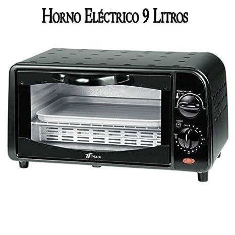 Suinga Horno eléctrico Tostador, 800W, 9 litros, Acero ...