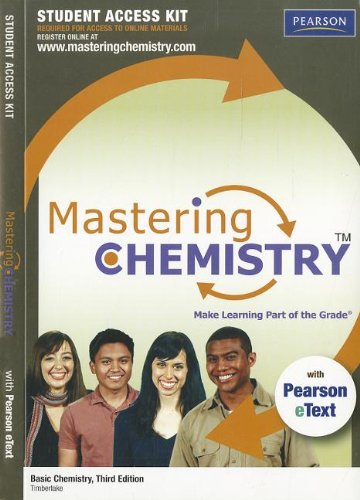 MasteringChemistry with Pearson eText Student Access Code Card for Basic Chemistry (3rd Edition) (MasteringChemistry (Ac