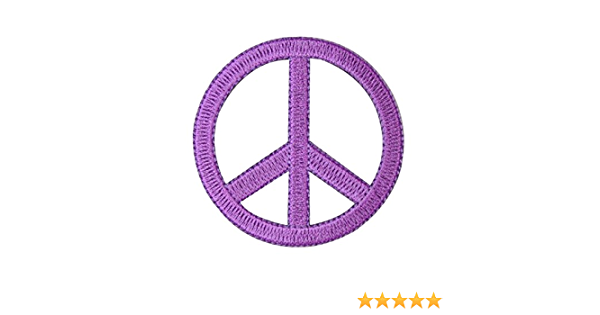 Floral Spiritual Bright Colorful Purple Peace Sign Handmade Crafted Hippie Women/'s Sneakers Streetwear Boho Paisley