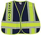 First Class Reflective Duty Vest-Security ID/Large/XL