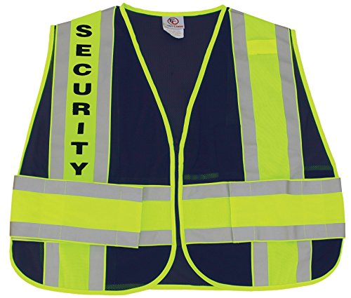 First Class Reflective Duty Vest-Security ID/Large/XL by First Class