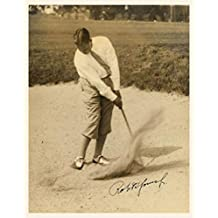 Bobby Jones - Golfer - Signed 8x10 inch REPRINT Photograph VINTAGE