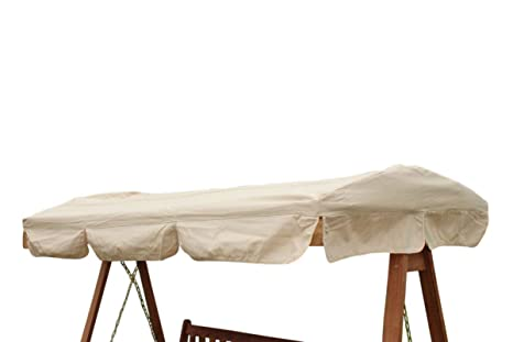 Ricambi Dondolo Da Giardino.Ricambi Baldacchino Per Una Sedia A Dondolo Da Giardino A 3 Posti O Amaca Colore Beige