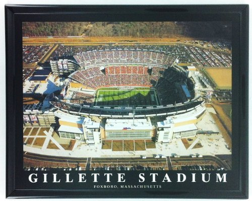 Football New England Patriots Gillette Stadium Framed Print Wall Art