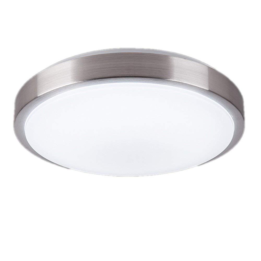 LEDシーリングライト、照明器具天井フラッシュマウント照明ラウンド、キッチン用バスルームダイニングルーム (Color : White light, Size : 35cm-18W) 35cm-18W White light B07SWW1ZRB