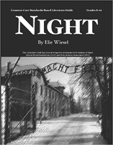 Night Literature Guide (Common Core and NCTE/IRA Standards-Aligned ...