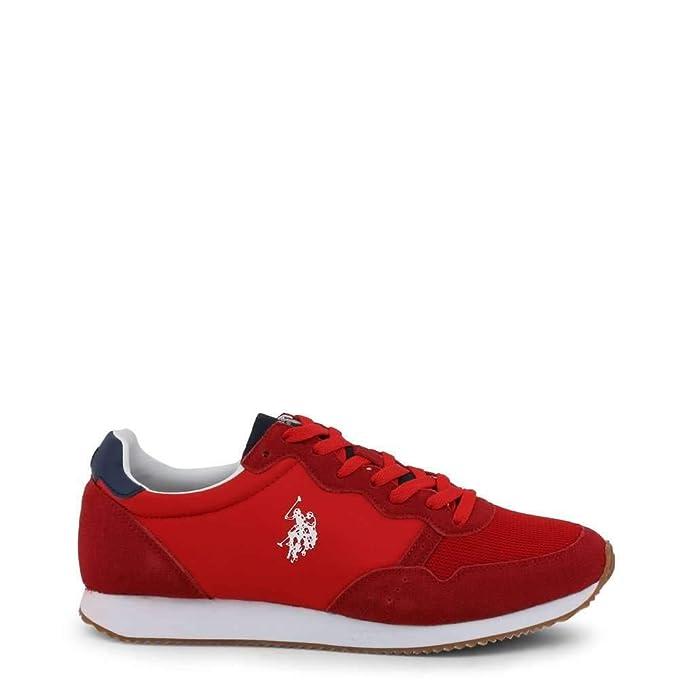 U.S. Polo Sneaker JANKO4056S9_TS1 Hombre Color: Rojo Talla: 43 ...