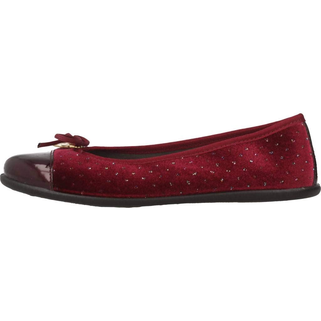 Conguitos Mercedes Terciopelo Ajustable Mary Janes Fille