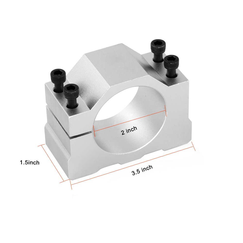 KKmoon 500W Diameter 52mm Air-Cooled Spindle Motor PCB Engraving Machine Spindle ER11 with Special Power Supply