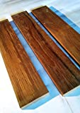Teak Wood Board. 7/8'' x 2'' x 19-20'' (4 Pack)