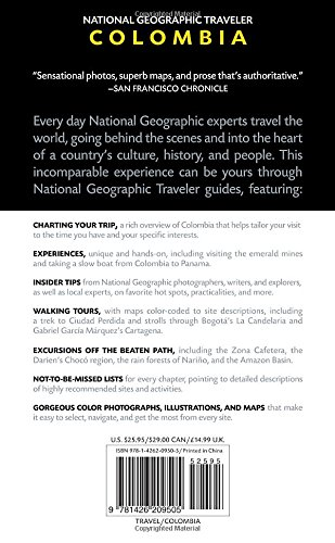 National Geographic Traveler: Colombia Idioma Inglés: Amazon.es ...