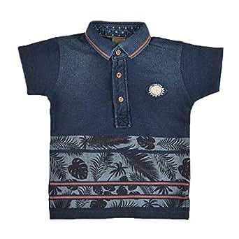 Little Kangaroos Boys T-shirt,Dark Blue