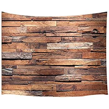 Amazon com: Ambesonne Rustic Tapestry, Image of Blue Grey Grunge