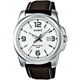 Casio MTP-1314PL-7AVEF - Reloj de pulsera hombre, piel, color marrón