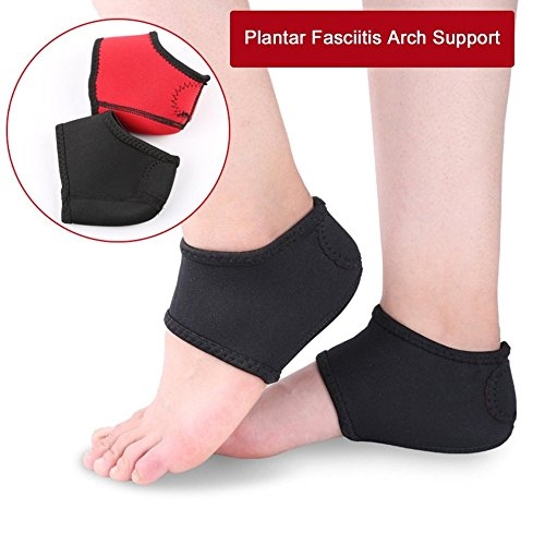 Unsex Plantar Fasciitis Arch Support Heel Pain Relief Foot Pain Sleeve Cushion Wrap Anti Friction by Isguin